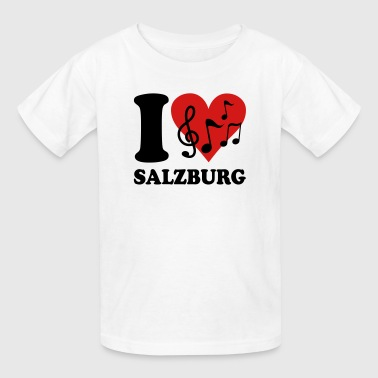 I love Salzburg - Kids' T-Shirt