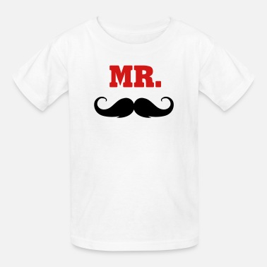 Mr Beard mr. -  MR - Kids' T-Shirt