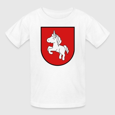 unicorn insignia - Kids' T-Shirt