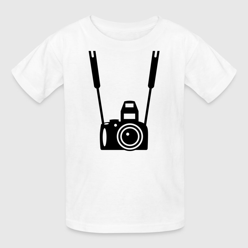 Photo Camera - Kids' T-Shirt