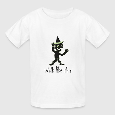 Walk like this - Zombie - Be a zombie - Kids' T-Shirt
