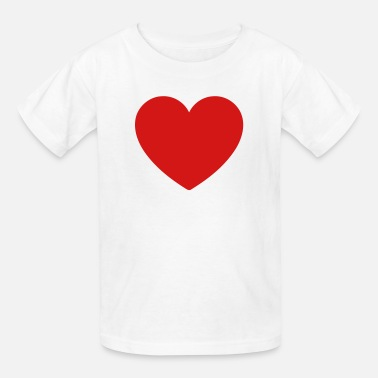 Lovehearts Loveheart Shape - Kids' T-Shirt