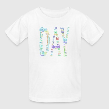day words - Kids' T-Shirt
