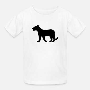 Lioness Lioness Silhouette - Kids' T-Shirt
