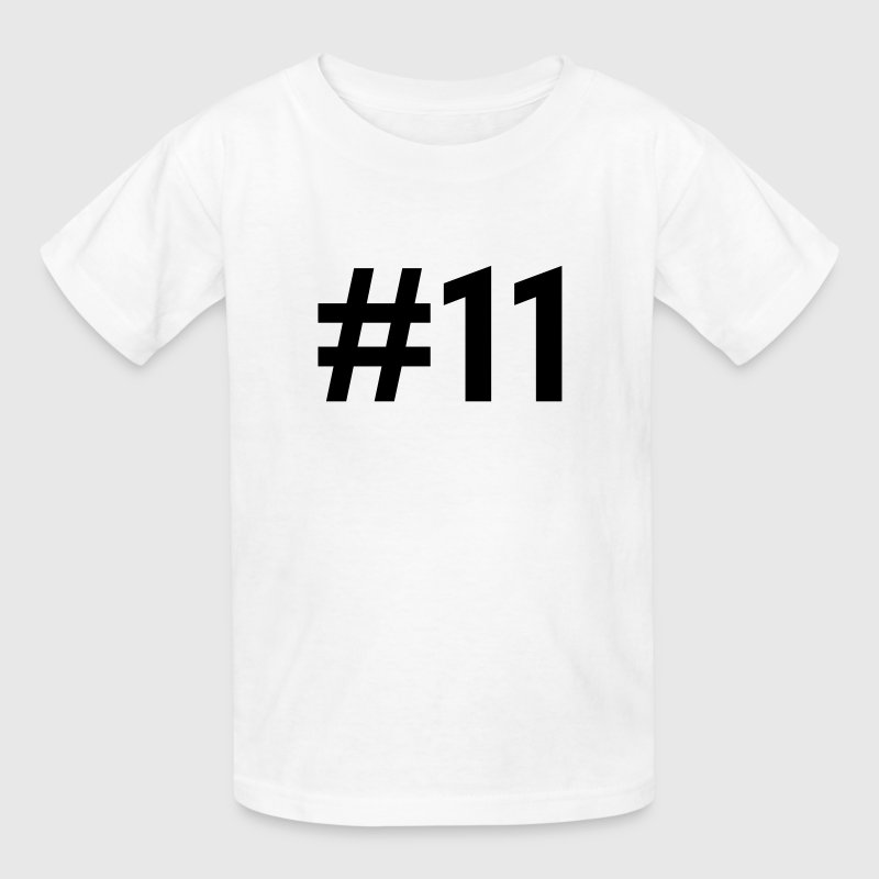 #11 (number eleven) - Kids' T-Shirt