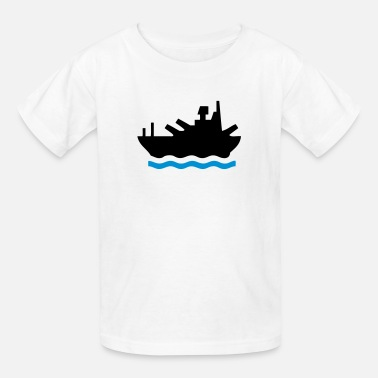 Battle Beach Sea Battleship - Kids' T-Shirt