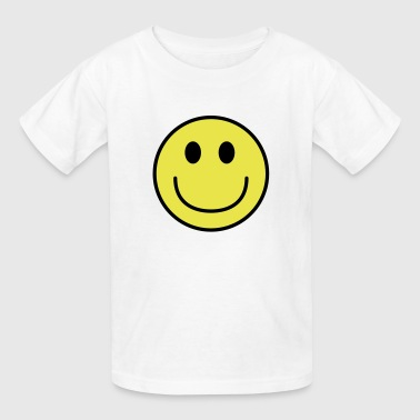Happy Face Smiley face big smile - Kids' T-Shirt
