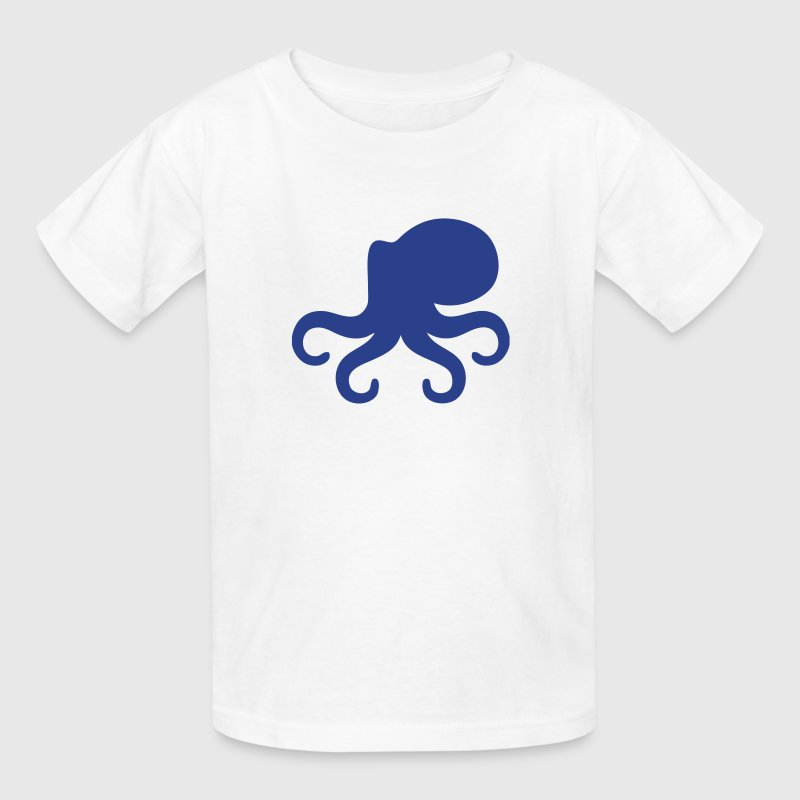 Octopus Silhouette - Kids' T-Shirt
