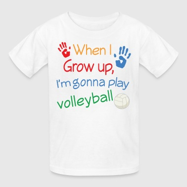 Kids Volleyball Sports - Kids' T-Shirt