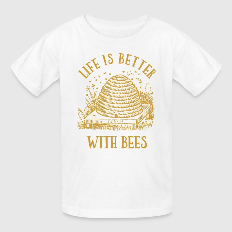 Life's Better With Bees - Kids' T-Shirt