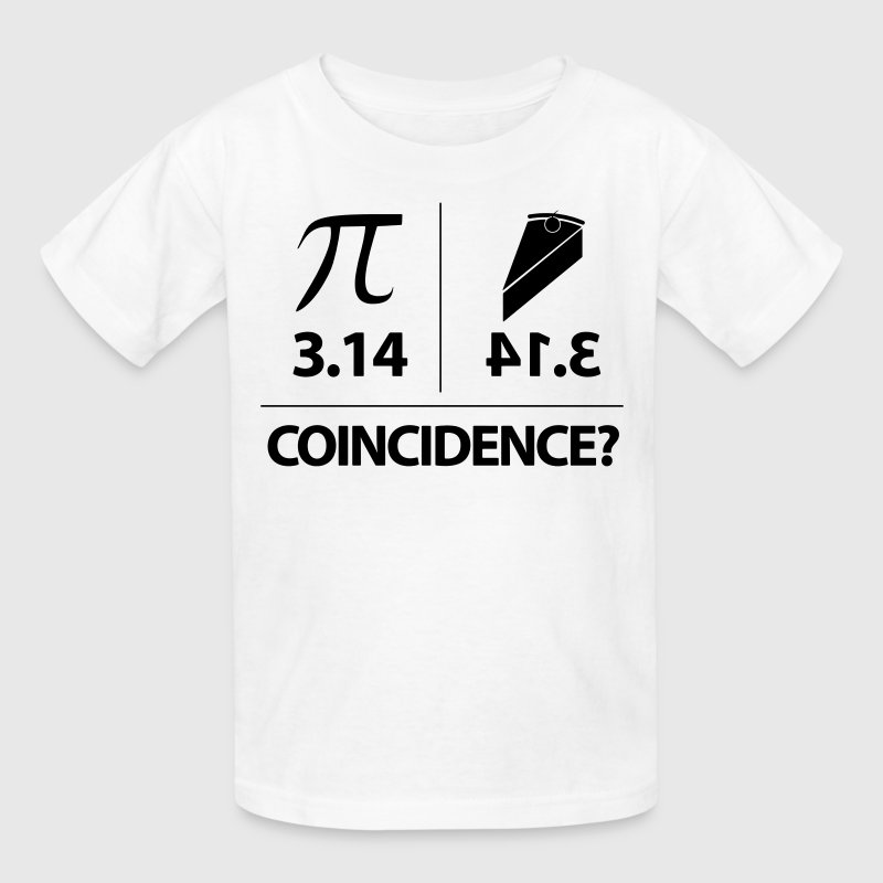 Pie Coincidence? - 3.14 Backwards - Kids' T-Shirt