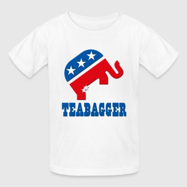 Teabagger Republican Tea Party - Kids' T-Shirt