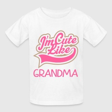 Cute Granddaughter - Kids' T-Shirt