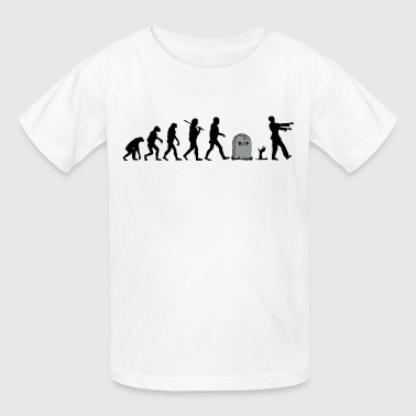 Zombie Evolution - Kids' T-Shirt