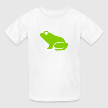 Frog (Leap Frog) Silhouette - Kids' T-Shirt