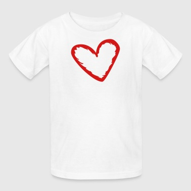 Heart Vector heart (vector) - Kids' T-Shirt