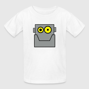 Cartoon Robot Clipart Cartoon Robot Head Tinman - Kids' T-Shirt