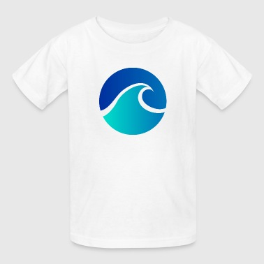 Waving Vacation Summer - Wave - Design - Water - Vacation - Kids' T-Shirt