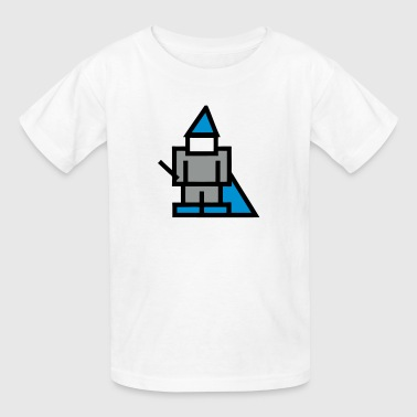 RPG Game 8Bit Wizard / Magician - Kids' T-Shirt