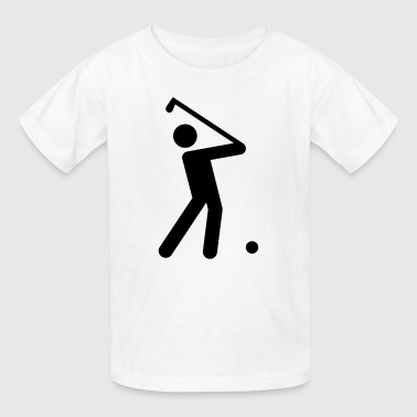 Golf Stickman  - Kids' T-Shirt