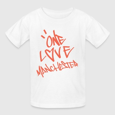 one love manchester - Kids' T-Shirt