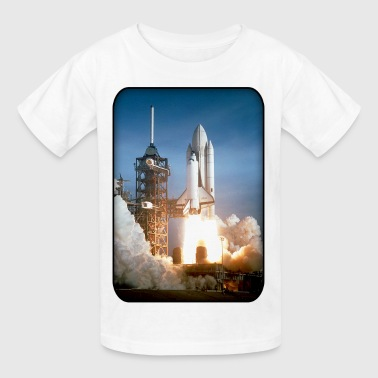 Shuttle Launch - NASA - Space - Science - Future - Kids' T-Shirt