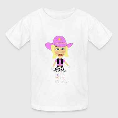 The Yodeling Cowgirl - Kids' T-Shirt