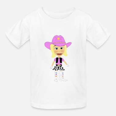 Yodelling The Yodeling Cowgirl - Kids' T-Shirt