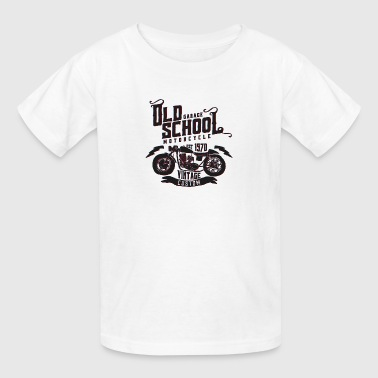 Old School Vintage Motorcycle - Kids' T-Shirt