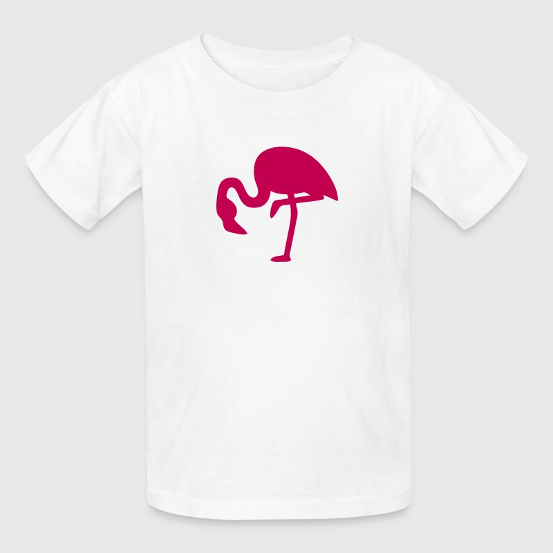 Pink Flamingo Silhouette - Kids' T-Shirt