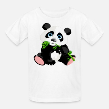 Cute Panda panda - Kids' T-Shirt