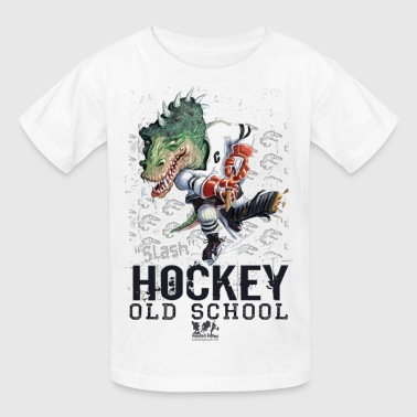 Dino Hockey - Kids' T-Shirt