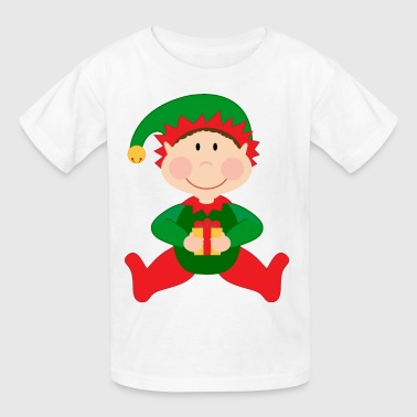Christmas Kids Elf Cute - Kids' T-Shirt