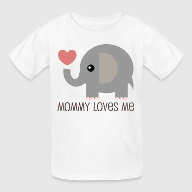Mommy Loves Me - Kids' T-Shirt