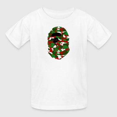 A Bathing Ape Camo Big Ape Head 2016 - Kids' T-Shirt