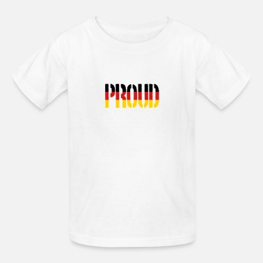 German Baseball Proud Germany Flag, Proud to be German - Kids' T-Shirt