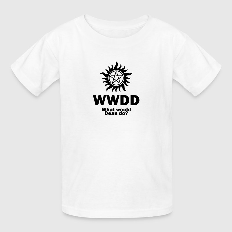 What Would Dean Do? - Supernatural - Winchesters - Kids' T-Shirt