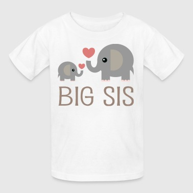 Big Sis Elephants - Kids' T-Shirt