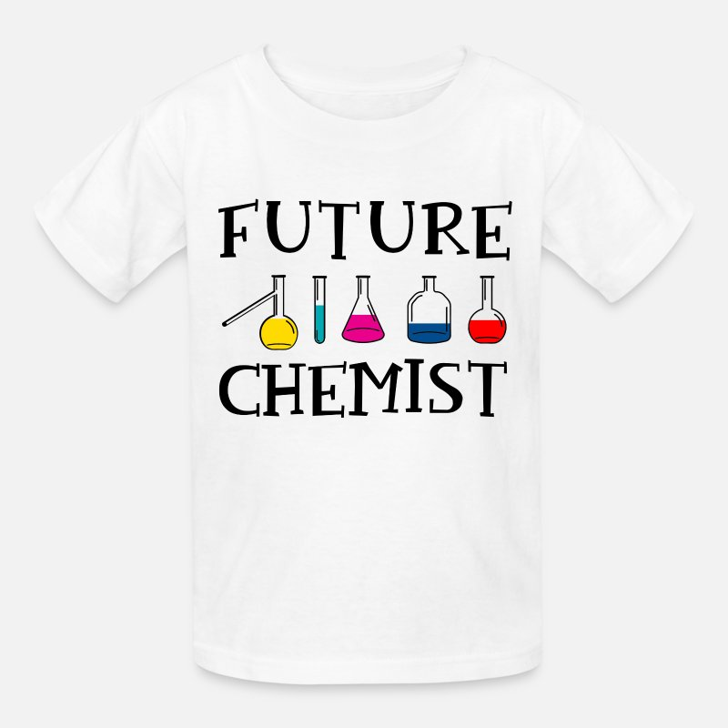 Chemist T-Shirts - Future Chemist - Kids' T-Shirt white