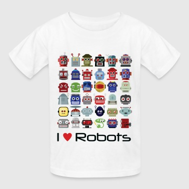 i_love_robots - Kids' T-Shirt