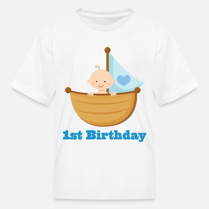 1st Birthday Boy Kids T Shirt