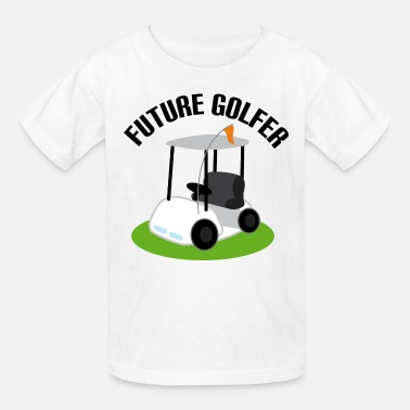 Golfer Future Golfer Golf Cart - Kids' T-Shirt