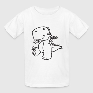 Cute Dinosaur - Kids' T-Shirt