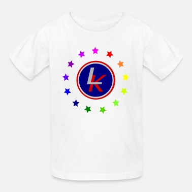 Rainbow Kids Liberty Kid logo with rainbow - Kids' T-Shirt