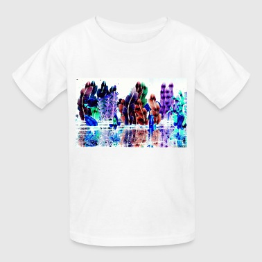 Glowing Trees - Kids' T-Shirt
