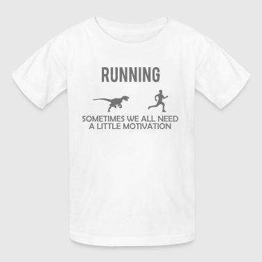 Running Motivation - Kids' T-Shirt