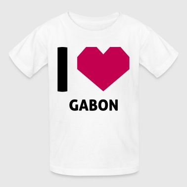 I Love Gabon - Kids' T-Shirt