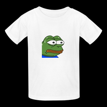 Nervous Pepe - monkaS (Twitch Emote) - Kids' T-Shirt