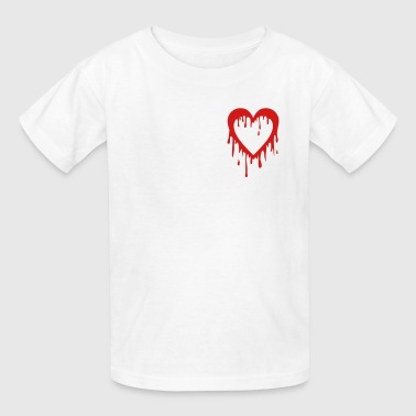 bleeding heart - Kids' T-Shirt