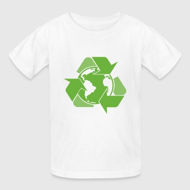 Recycle Earth Green - Kids' T-Shirt